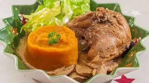 cuisine faisan faisan aux cèpes purée de patate douce sauce au cidre recette