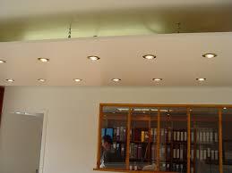 faux plafond cuisine spot ajouter une galerie photo faux plafond avec spots intégrés faux