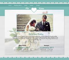 software pembuat undangan online akanikah com free wedding invitation website