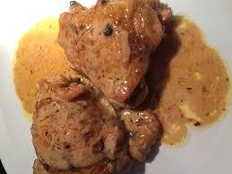 cuisiner haut de cuisse de poulet haut de cuisses de poulet à la creme et vin blanc une mams qui teste
