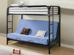 bedroom breathtaking luxurious black metal bunk bed frame