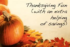 thanksgiving savings with miss money palm happening