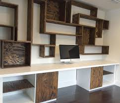 Wooden Desk With Shelves Wall Units Awesome Desk Wall Units Marvellous Desk Wall Units