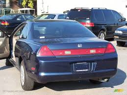 2000 Honda Accord Lx Coupe 2000 Deep Velvet Blue Pearl Honda Accord Lx Coupe 3731794 Photo