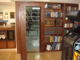 Built In Bookcase Kits How To Create A Secret Doorway Behind A Bookcase