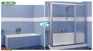 trasformare una doccia in vasca da bagno trasforma la tua vecchia vasca in una doccia a novara
