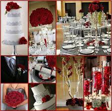 Red And Silver Wedding Best 25 Red Silver Wedding Ideas On Pinterest Black Red Wedding