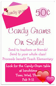 send a gram candy grams candygrams and booster club officers valentines