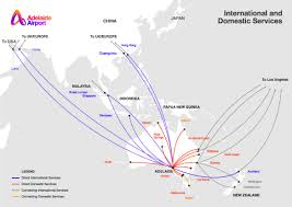 Us Airways Route Map by Need A Quick Look At Flight Routes From Adelaide Adelaide Airport