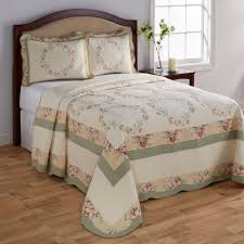 Gold Quilted Bedspread Cannon Elisabeth Quilted Bedspread