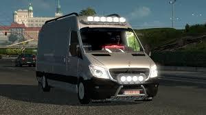 mega truck mercedes sprinter mega mod v1 0 ets 2 mods euro truck