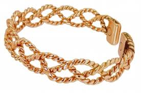 solid copper chain bracelet images Womens copper magnetic bracelet chloe jpg