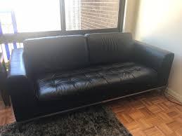 Contemporary Black Leather Sofa Handsome Natuzzi Leather Sofa Contemporary Black Leather Loveseat