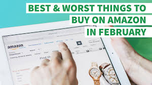 the best and worst things to buy on amazon in february