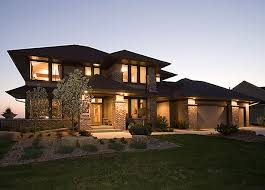 Prairie Style House 110 Best House Plans Images On Pinterest Modern Houses