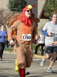 get ready to burn some calories at a thanksgiving day race