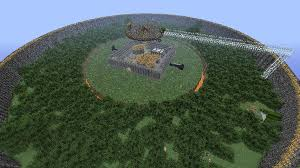 siege on castle steve siege the castle custom multiplayer pvp map minecraft project