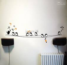 music wall decor shenra com wall stickers art custom wall stickers