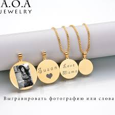 engraved jewelry aliexpress buy hot sale custom engraved necklace stainless