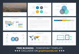free business powerpoint template ide presentasi pinterest
