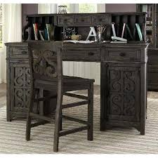 counter height desk with storage counter height desk deep weathered counter height desk chair counter