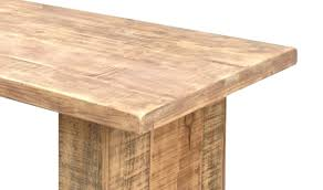 Pine Table Pine Dining Table Thick Top Massive Legs Umaid Craftorium