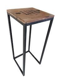 beistelltische echtholz designer beistelltische nevol 3er set tisch aus holz metall ebay