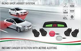 Blind Spot Detection System Installation Gazer Ba400 Universal Blind Spot Monitor Assist S