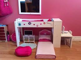Kitchen Sets For Girls Pink And White Girls Bedroom Ideas Wooden Bed Connected With