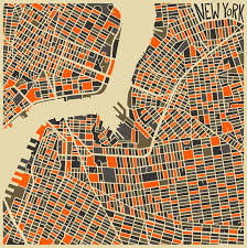 city map modern abstract city maps http thisiscolossal com 2013 07