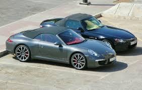 porsche boxster vs 911 2012 porsche 911 cabrio 3 drive arabia