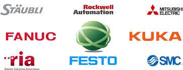 mitsubishi electric logo png staubli rockwell metsubishi fanuc kuka ria festo smc calvary