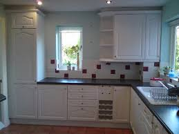 Can You Paint Kitchen Cabinets Without Sanding Kitchen Brilliant Painted Oak Kitchen For Home Painted Oak