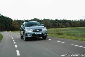 lexus van papier lexus rx450h f sport auto u0026consument