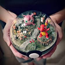 get inspired by these gorgeous pokéball terrariums tokyo otaku