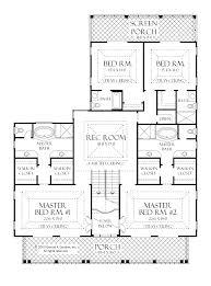 Modern Design 2 Bedroom House Plans With Master Suites 4 Bedroom