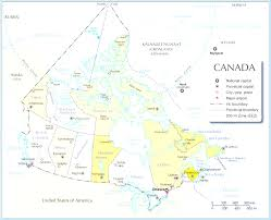 Canada Cities Map by Map Of Canada With Cities Throughout And States Evenakliyat Biz