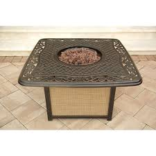 Propane Patio Fire Pit by Coffee Tables Appealing Uptownbrown Flame Fire Pit Coffee Table
