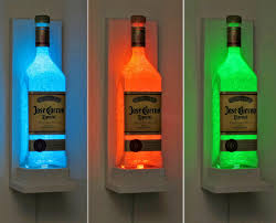 Led Light Bar Color Changing by Jose Cuervo Wall Mount Sconce Color Changing Remote Led Bottle
