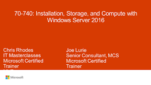 70 740 installation storage and compute with windows server