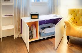 modern litter box cabinet catteux modern furniture to conceal the litter box hauspanther