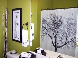 Bathroom Shower Curtain Ideas by Lovely Bathroom Decorating Ideas Shower Curtain Green Surprising