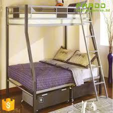 Steel Frame Bunk Beds by Metal Detachable Bunk Bed For Home Metal Detachable Bunk Bed For