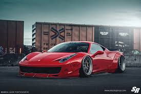 camo ferrari 458 liberty walk ferrari 458 italia on pur wheels might not be