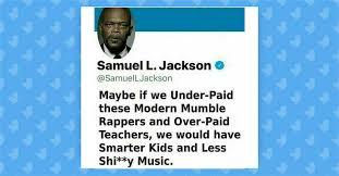 Samuel L Jackson Meme Generator - fact check did samuel l jackson tweet about overpaid modern