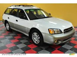 white subaru outback 2000 subaru outback wagon in white birch 622852 autos of asia