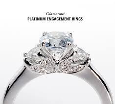 Platinum Wedding Rings by Glamorous Platinum Engagement Rings Green Wedding Shoes