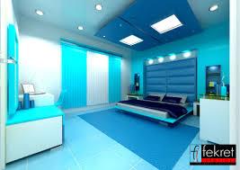 interior design painting a room blue and orange trend decoration
