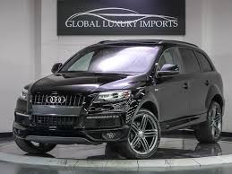 audi q7 towing package 2014 audi q7 3 0t quattro s line prestige pre owned luxury car