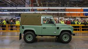 original land rover defender bbc autos this is the last land rover defender